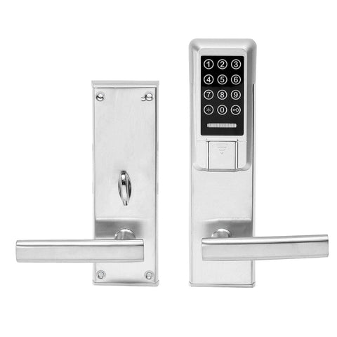 Electronic Digital Smart Password Door Lock Keypad Touch Screen With RFID Card Access - CoventryMall
