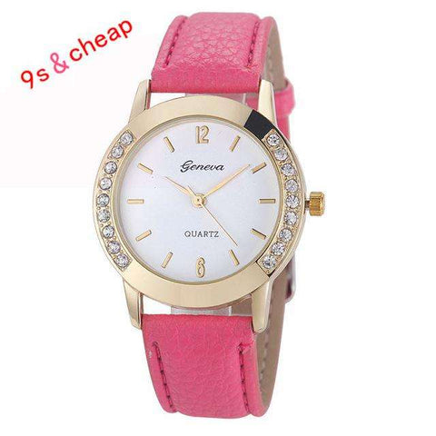Very Hot Watch  Women Lady Girl Diamond Analog Watches - CoventryMall