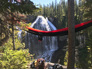 Red/Black Double Hammock