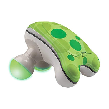 HoMedics Ribbit Handheld Mini Massager | Vibration Massage, Illuminated Feet, Battery Operated, Assorted Colors | Lightweight, Muscle Kneading for Back, Shoulders, Feet,...