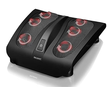 Shiatsu Foot Massager for Painful Plantar Fasciitis, Chronic and Nerve Pain - Deep Kneading Shiatsu Therapy Massage with Built-In Heat Function Massage Tired Feet, Perfect Gift Idea