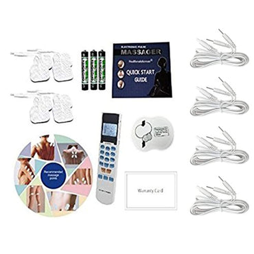 FDA cleared HealthmateForever YK15AB TENS unit Electronic Pulse Massager Tennis Elbow,Carpal Tunnel Syndrome,Arthritis, Bursitis,and other Inflammation...