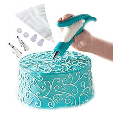 Lesirit Kitchen Cake Decorating Pen Kit (Blue)