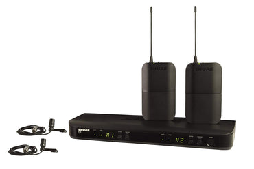 Shure BLX188/CVL Dual Channel Lavalier Wireless System with 2 CVL Lavalier Microphones