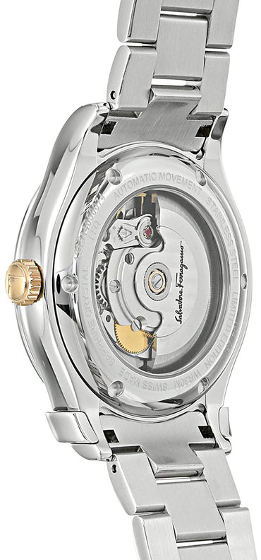 Salvatore Ferragamo Men's 1898 Limited Edition Swiss Made Automatic Watch, Model: FFQ010016