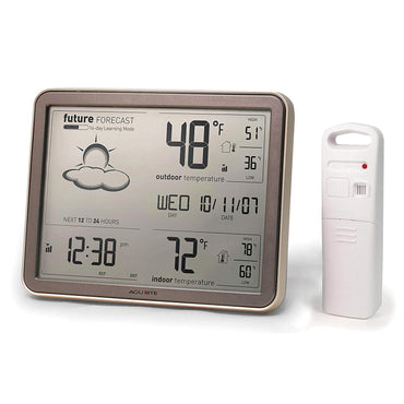 AcuRite 75077A3M Wireless Weather Station with Large Display, Wireless Temperature Sensor and Atomic Clock