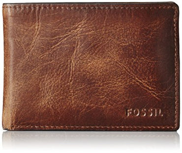 Fossil Men's Derrick Front Pocket Bifold Wallet