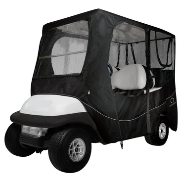 Classic Accessories Fairway Golf Cart Deluxe Enclosure