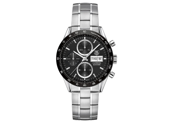 Watch Сalibre 16 Day Date Automatic Chronograph 41 mm Black Bracelet
