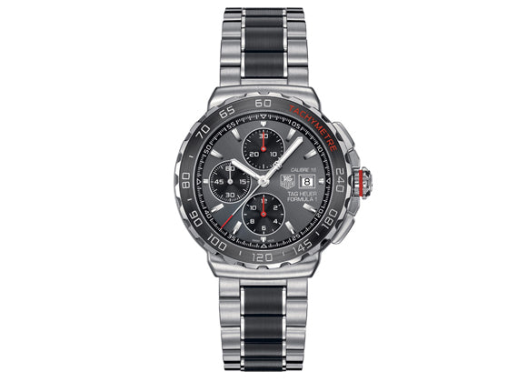 Watch Formula 1 Calibre 16 Automatic Chronograph 44 mm Anthracite and Red