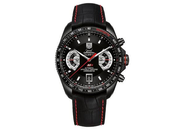 Watch Grand Carrera Calibre 17 RS2 Automatic Chronograph 43 mm Black