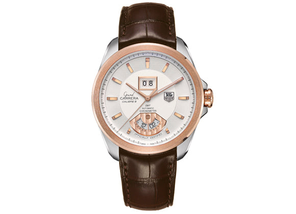 Watch Grand Carrera Calibre 6 RS Automatic Watch 40,2 mm Steel and Rosegold