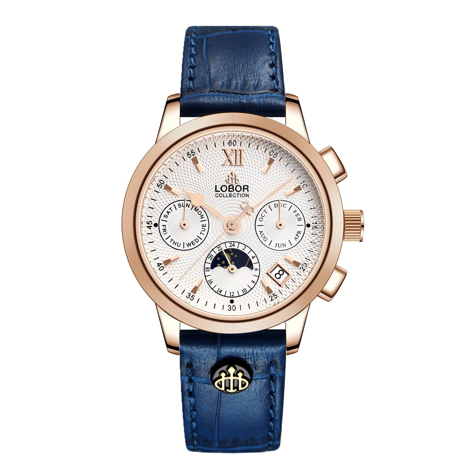 Cellini Guildford Blue 34mm
