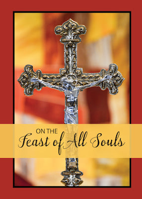 52458 All Souls Cross with Color Background