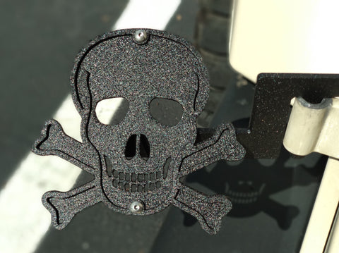Skull & Crossbone Foot Pegs
