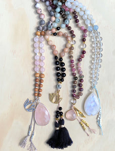 What inspires an Ava Jewels Mala?