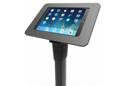 Compulocks Secure Rokku Enclosure With Adjustable Floor Stand For iPad Air/Air 2/Pro 9.7 And And Galaxy Tab A 9.7in/S2 9.7in - Black - Easypos Point of Sale Systems