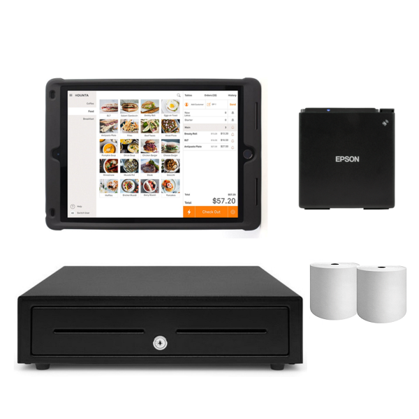 Kounta Bluetooth POS Hardware - iPad Compatible Bundle #9 - Easypos Point of Sale Systems