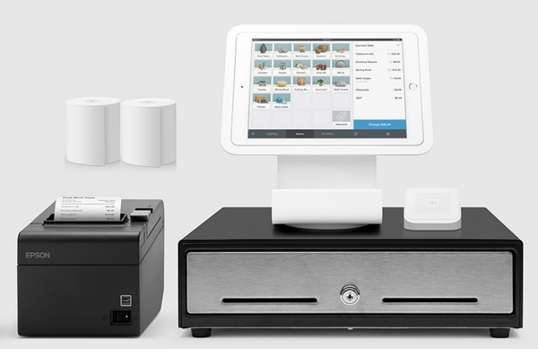 Square Stand POS System for iPad with USB Printer Bundle #17 - Easypos Point of Sale Systems