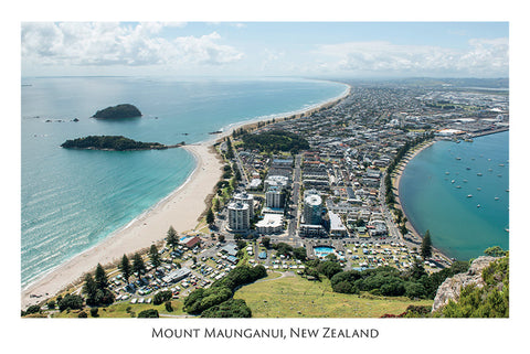 546 - Post Art Postcard - Mount Maunganui