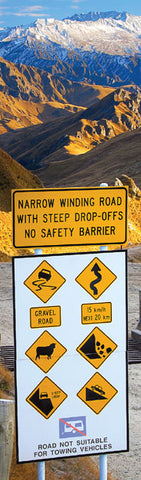 BM1019 - Sisson Bookmark - Skippers Road Sign