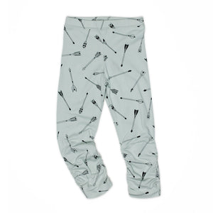 Grey Scrunch Ankle Legging - Well Grounded Co Bottoms