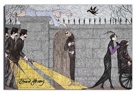 Edward Gorey Three Investigators	 Magnet