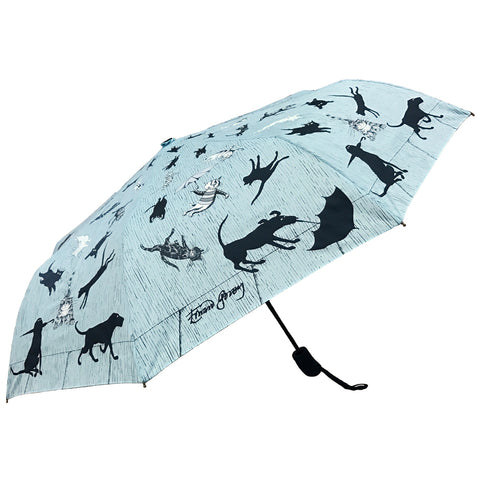 Raining Cats and Dogs Compact Umbrella