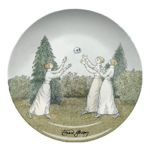 Edward Gorey Dull Afternoon Resin Plate