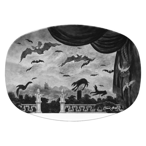 Dracula Resin Serving Dish
