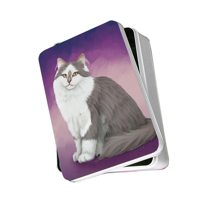 Siberian Cat Photo Storage Tin PITN48116