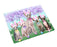 "Easter Holiday Sphynx Cats Magnet MAG76011 (Mini 3.5"" x 2"")"