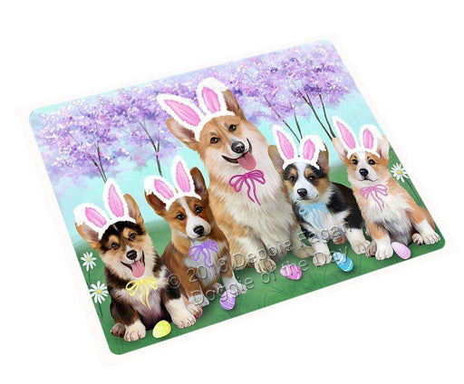 "Corgis Dog Easter Holiday Magnet Mini (3.5"" x 2"") MAG51210"