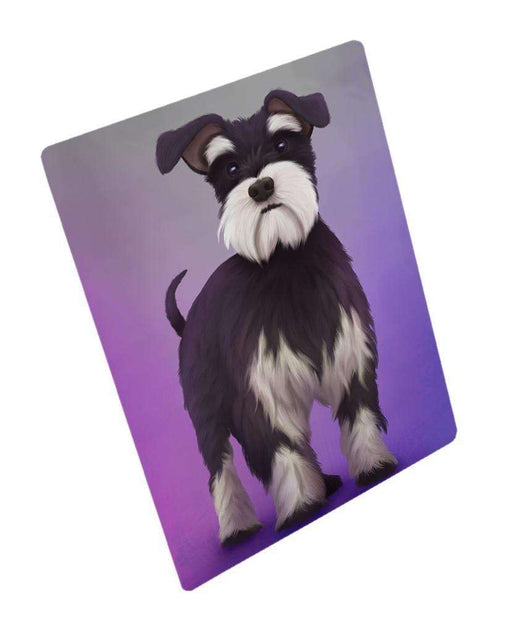 "Miniature Schnauzer Dog Magnet Mini (3.5"" x 2"")"