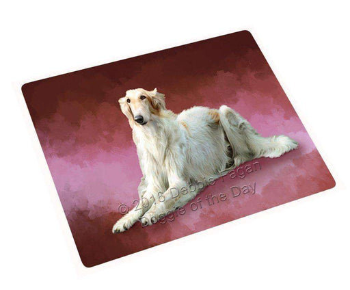 "Russian Borzoi Greyhound Dog Magnet Small (5.5"" x 4.25"") mag48249"