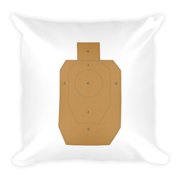 Guns are Forever in Mint Dry Fire Pillow, IDPA Style Target