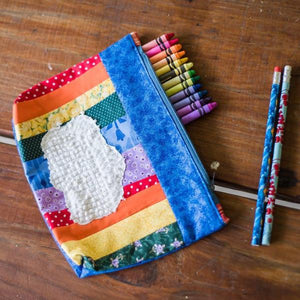 Rainbow Pencil Case-Pencil Case-Sir Winslows Zoo