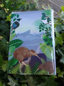 Sounds of NZ Bird Calls Card - Tui, Kiwi, Kereru