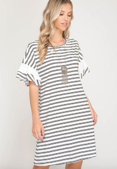 Ruffles & Stripes Dress