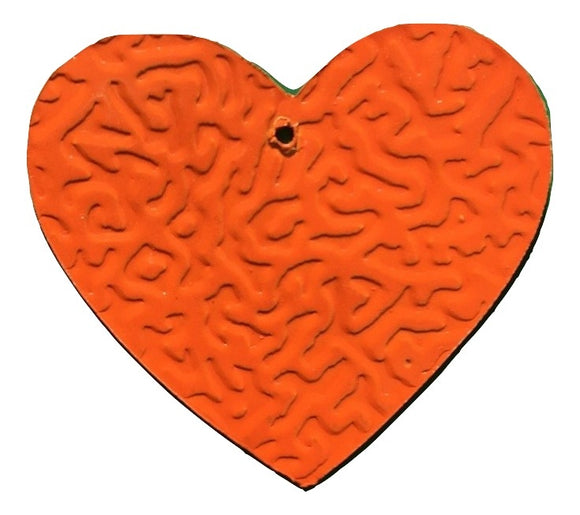 Tin Heart C-25934LK-O-90pcs (RRP $4.5)