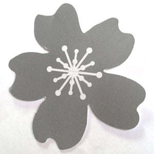 50 Paper Flower Tag - Silver ($0.36/pc) (RRP $18.14)
