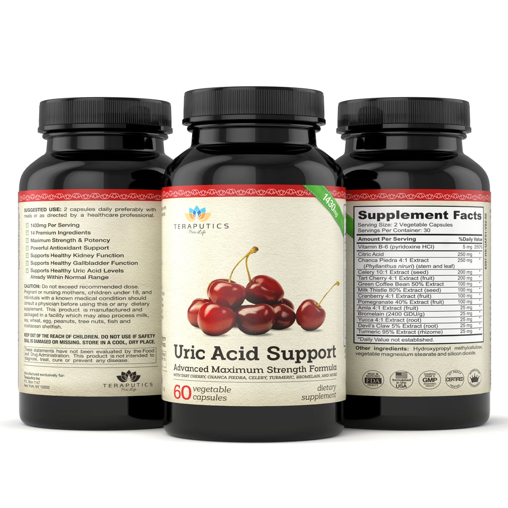 Uric Acid Support Maximum Strength Formula