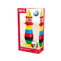 BRIO - Stacking Clown