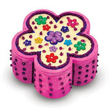 Melissa & Doug - Decorate-Your-Own - Wooden Flower Chest - Grace Baby