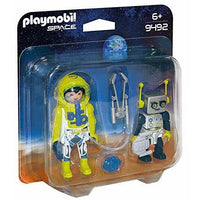 Playmobil - Mars Mission - Astronaut and Robot Duo Pack 9492