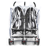 Rain Storm Cover - Side-By-Side Double Pram - Grace Baby