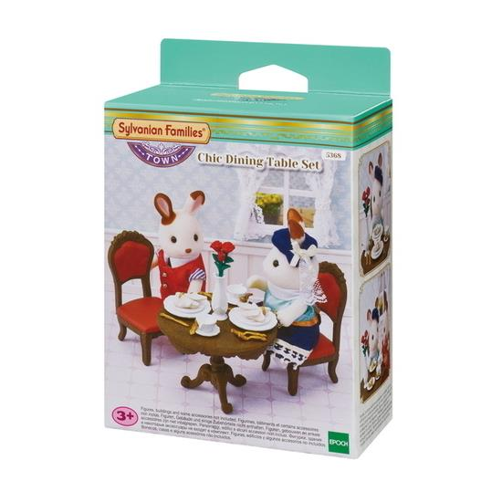 Sylvanian Families - Chic Dining Table Set 5368