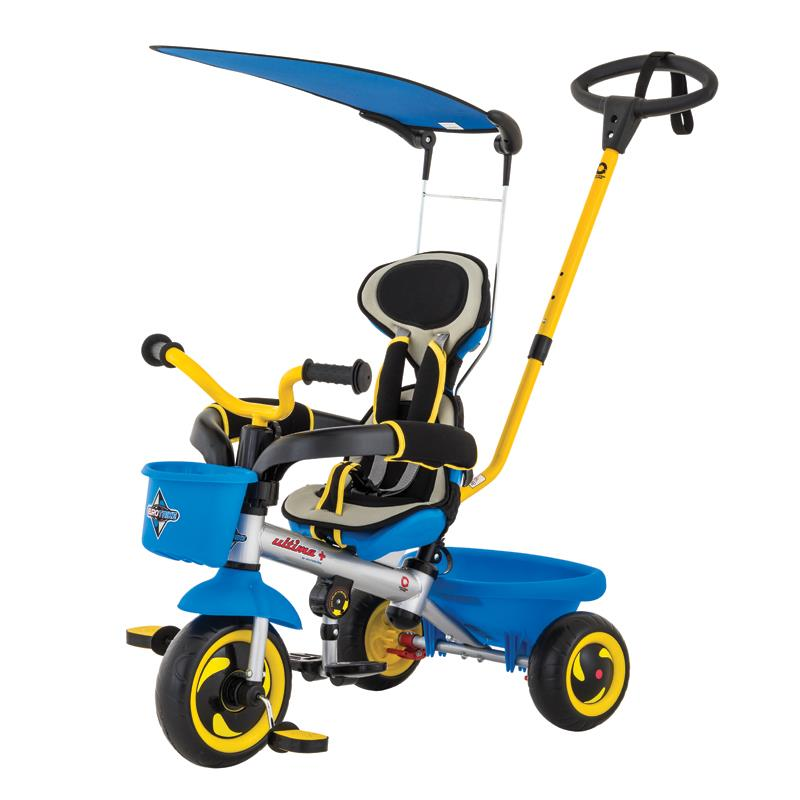 Eurotrike - Ultima Plus Auto Steer with Canopy - Blue