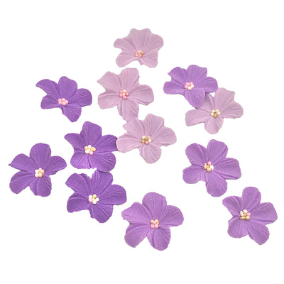 Sugar Blossoms - 12 pack- Puple Ombre