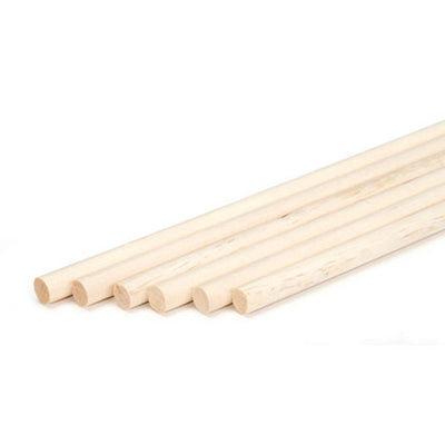 Wooden Dowels- 10 Pack